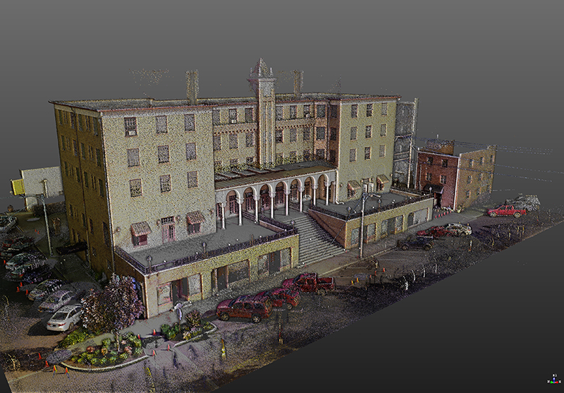HAAS Hall 3D Scan